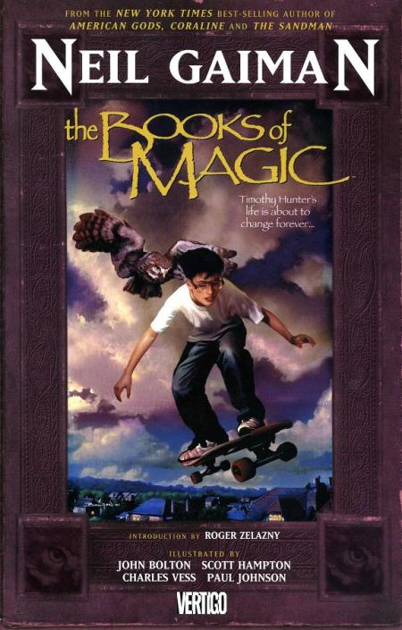 books of magic trade cover