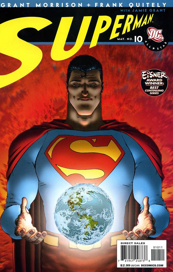all star superman 10 cover