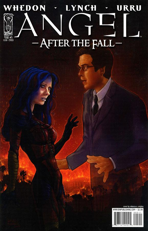 Angel After the Fall 5 cover