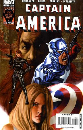 captain america 36 cover