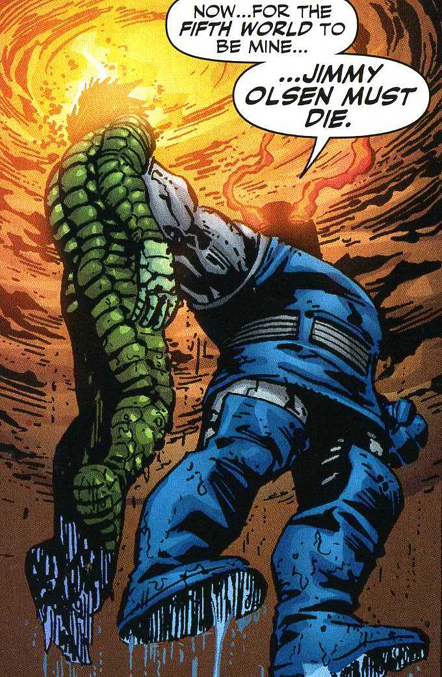 Darkseid Vs Orion It s orion  son of darkseidHulk Vs Darkseid