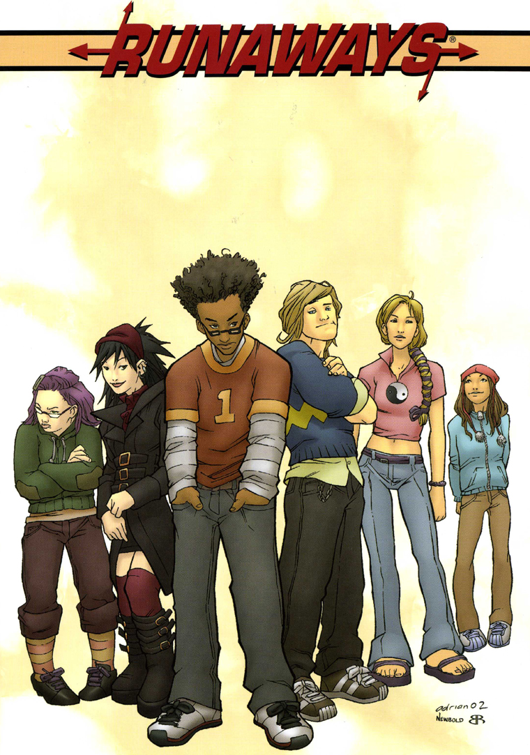 Image result for runaways comic