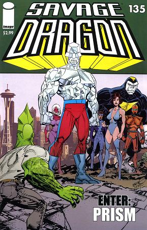 savage dragon 135 cover