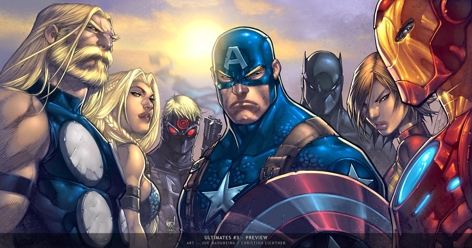 [Bowen] Ultimate Captain America - Variante - Fantastic! - Página 3 Ultimates-3-5-cover