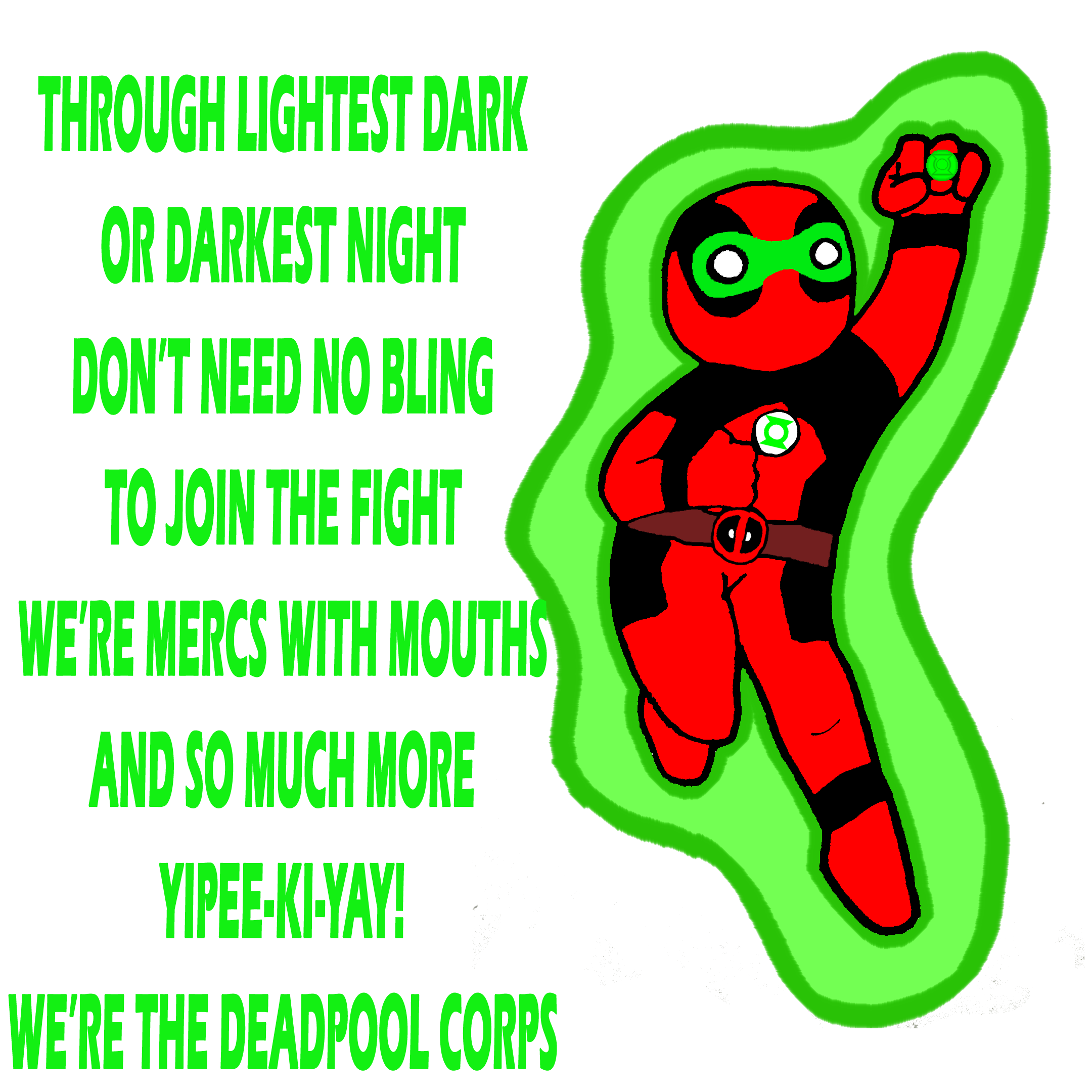 Deadpool Green Lantern