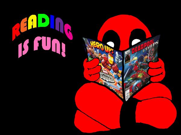 Deadpool Loves to Read