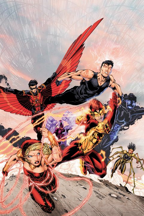 Putting aside my annoyance that the last group of Teen Titans (volume 3) had ...