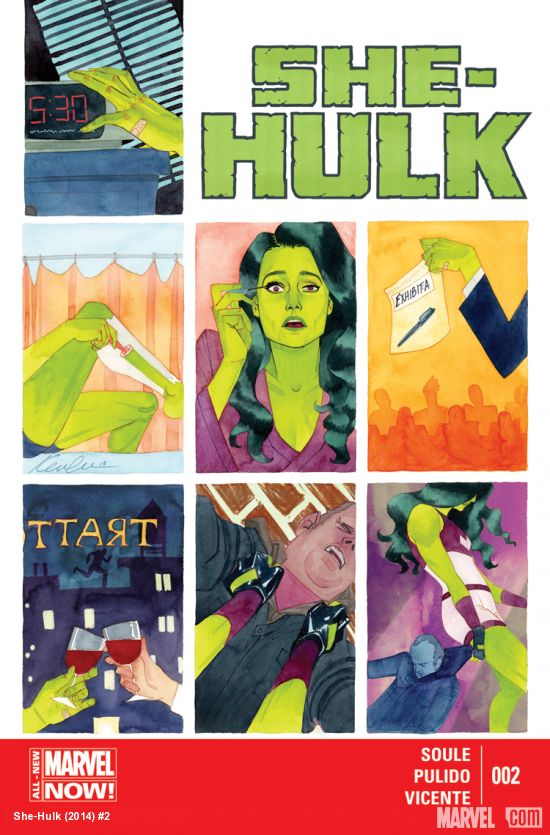 She Hulk #2 Review